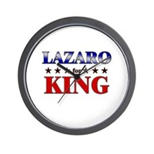LAZARO for king Wall Clock