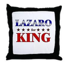 LAZARO for king Throw Pillow