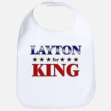 LAYTON for king Bib