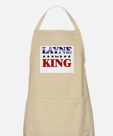 LAYNE for king BBQ Apron