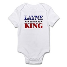 LAYNE for king Infant Bodysuit