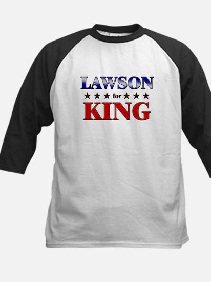 LAWSON for king Kids Baseball Jersey