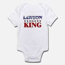 LAWSON for king Infant Bodysuit