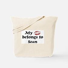 Kiss Belongs to Sean Tote Bag