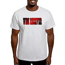 red & black WR T-Shirt