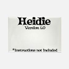 Heidi - Version 1.0 Rectangle Magnet