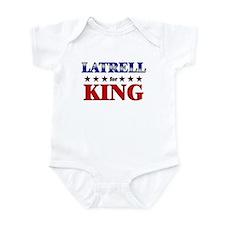 LATRELL for king Infant Bodysuit
