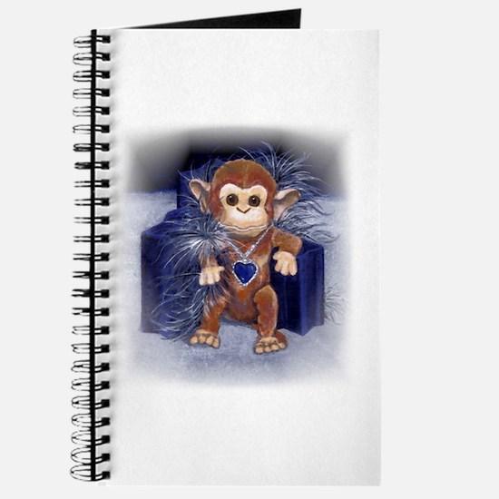 Monkey Watercolor Journal