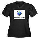 World's Coolest LEXIGRAPHIST Women's Plus Size V-N