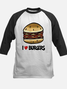 I Love Burgers Tee