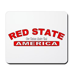 Red State America Mousepad