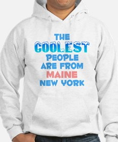 Coolest: Maine, NY Hoodie