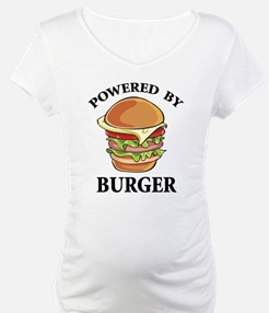 Powered By Burger Shirt