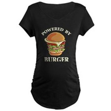 Powered By Burger T-Shirt