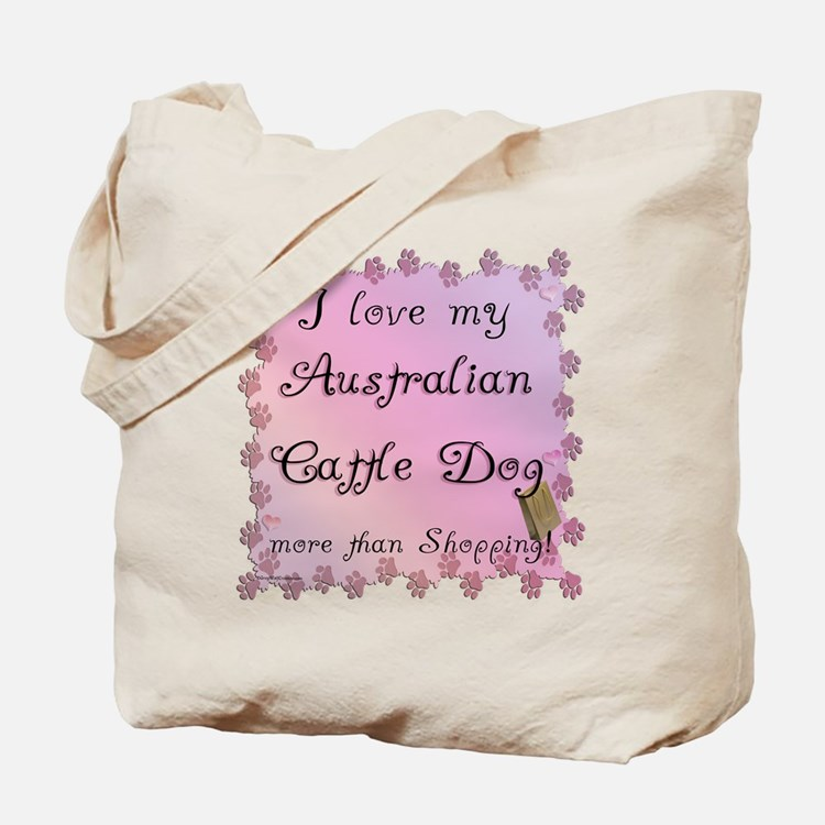 Aussie Cattle Shopping Tote Bag