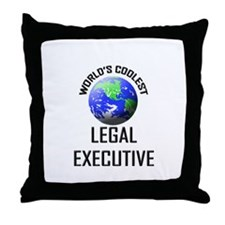 World's Coolest LEGAL EXECUTIVE Throw Pillow