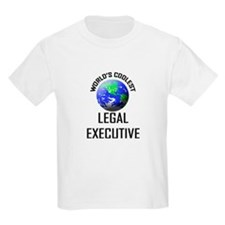 World's Coolest LEGAL EXECUTIVE T-Shirt