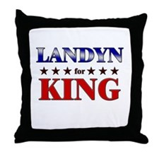 LANDYN for king Throw Pillow