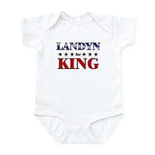 LANDYN for king Infant Bodysuit