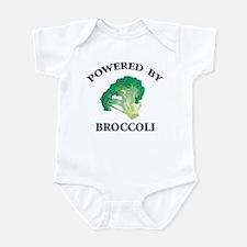 Powered By Broccoli Infant Bodysuit