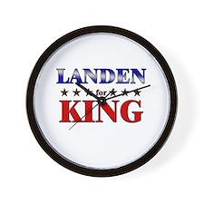 LANDEN for king Wall Clock