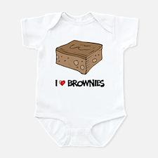 I Love Brownie Infant Bodysuit