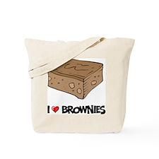I Love Brownie Tote Bag