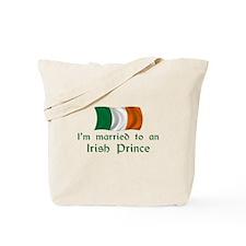 Married To Irish Prince Tote Bag