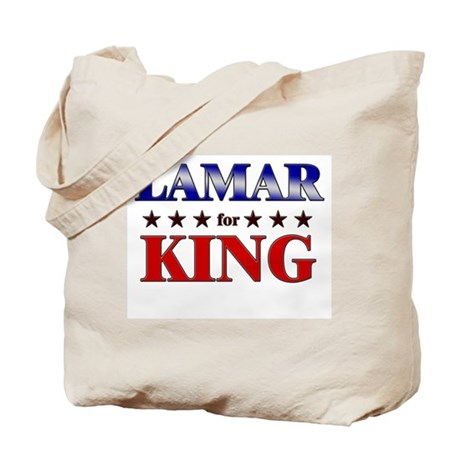 LAMAR for king Tote Bag