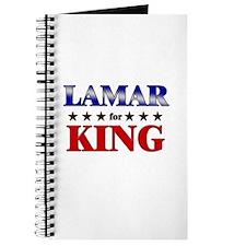LAMAR for king Journal