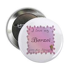 """Borzoi Shopping 2.25"""" Button"""
