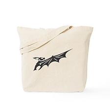 Black Bat #16 Tote Bag