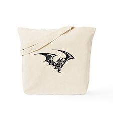 Black Bat #14 Tote Bag