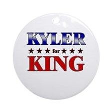 KYLER for king Ornament (Round)