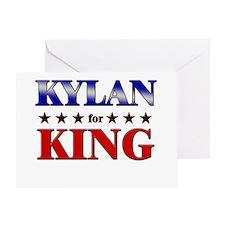 KYLAN for king Greeting Card
