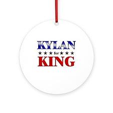 KYLAN for king Ornament (Round)