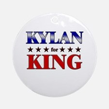 KYLAN for king Ornament (Round)