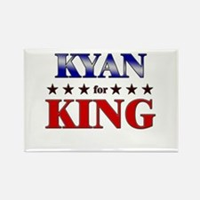 KYAN for king Rectangle Magnet