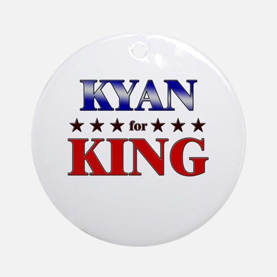 KYAN for king Ornament (Round)