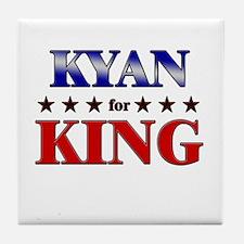 KYAN for king Tile Coaster