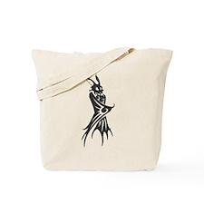 Black Bat #12 Tote Bag