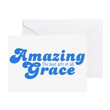 Amazing Grace Christian Greeting Card