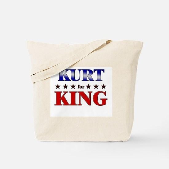 KURT for king Tote Bag