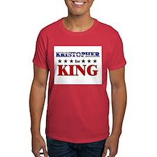KRISTOPHER for king T-Shirt