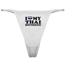 I Love My Thai Boyfriend Classic Thong