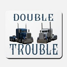 Double Trouble Mousepad