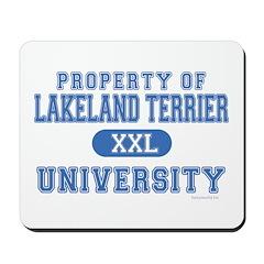 Lakeland Terrier U. Mousepad
