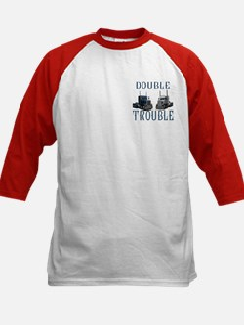 Double Trouble Kids Baseball Jersey