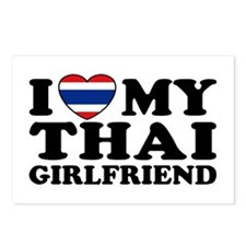I Love My Thai Girlfriend Postcards (Package of 8)