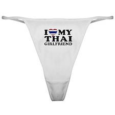 I Love My Thai Girlfriend Classic Thong